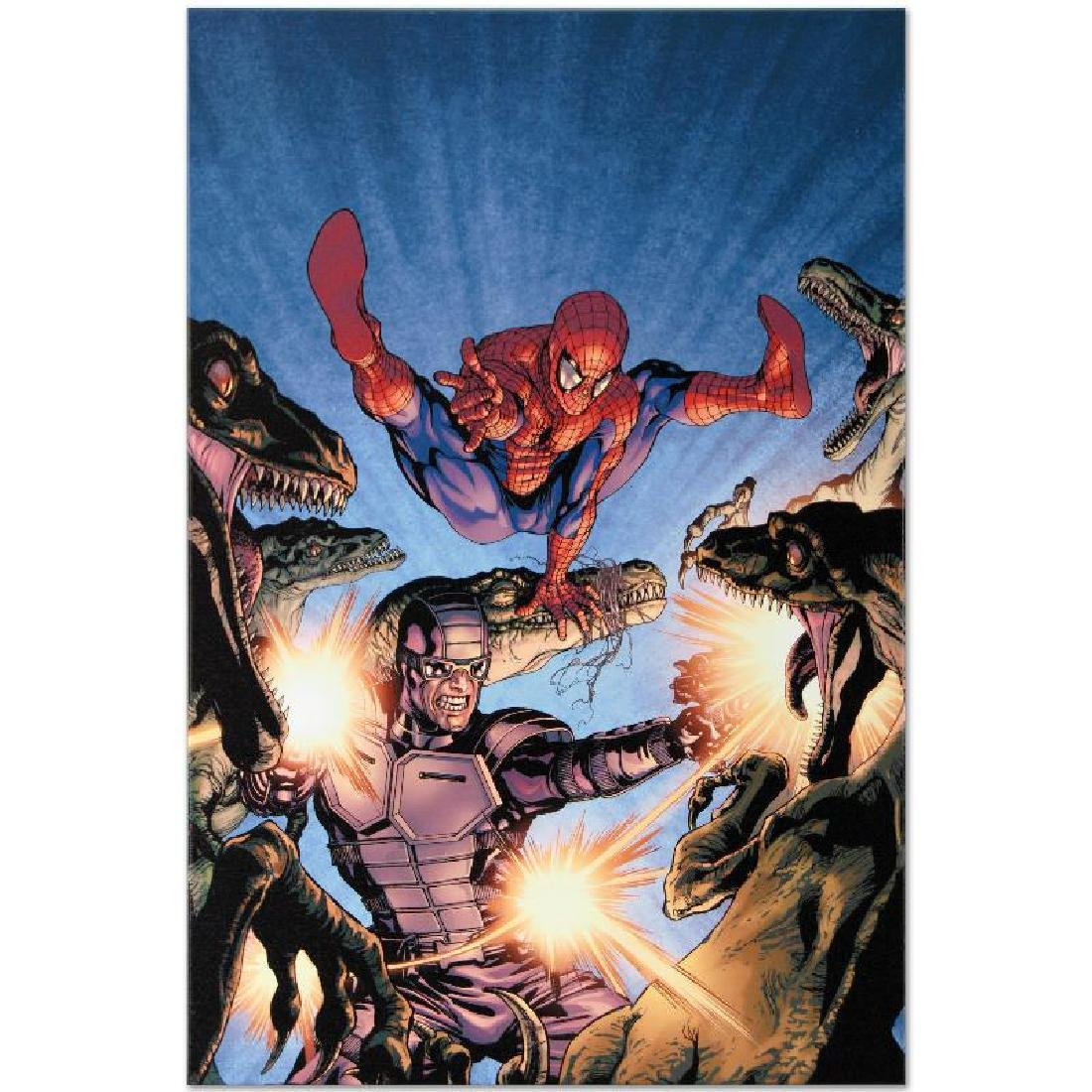 """""""Heroes For Hire #7"""" Limited Edition Giclee on Canvas - 2"""