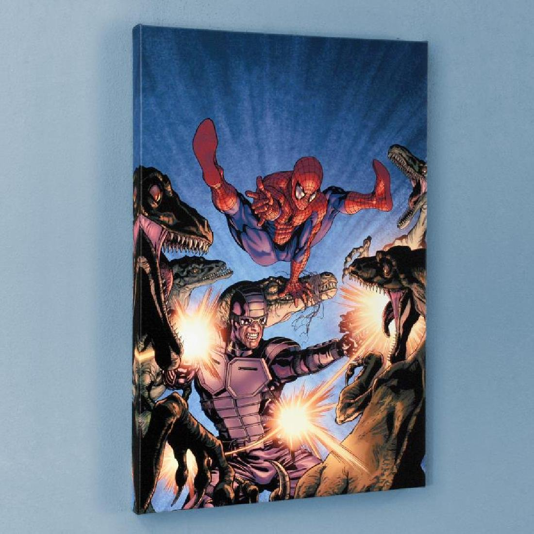 """Heroes For Hire #7"" Limited Edition Giclee on Canvas - 3"