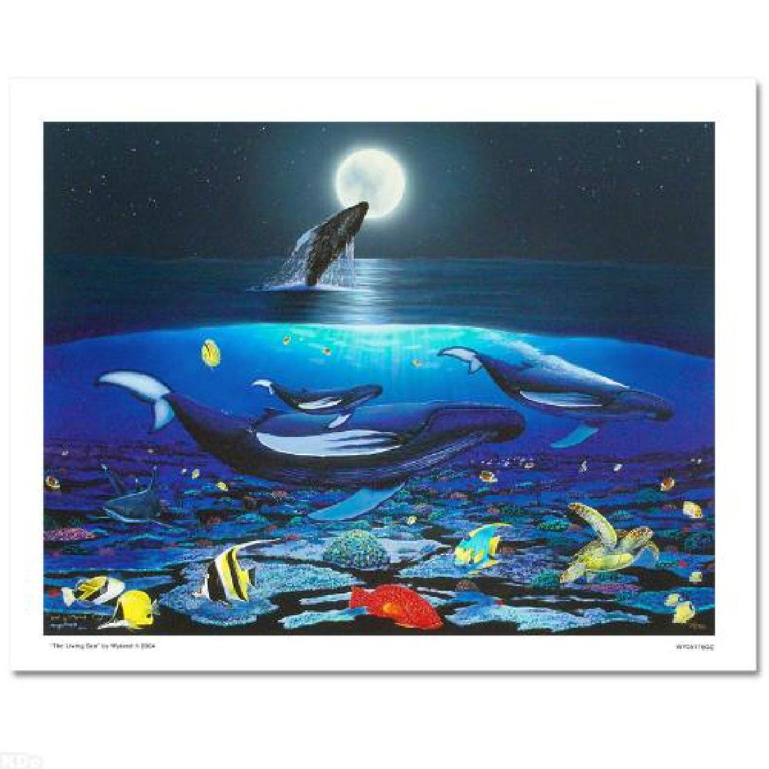 """The Living Sea"" Limited Edition Giclee on Canvas by"