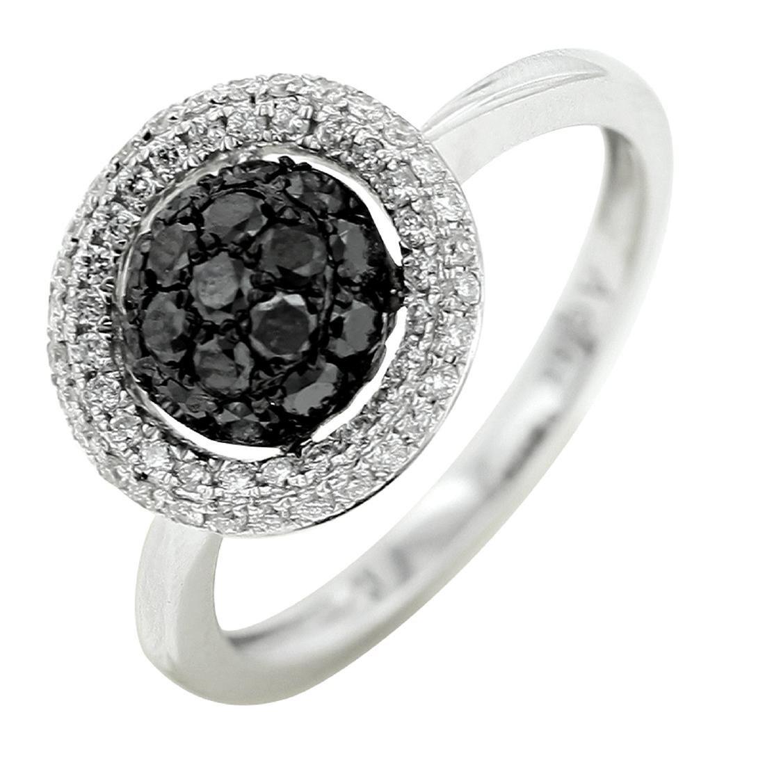 18k White Gold Women's Diamond Ring