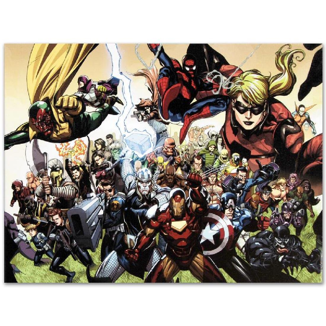"""Secret Invasion #6"" LIMITED EDITION Giclee on Canvas - 2"