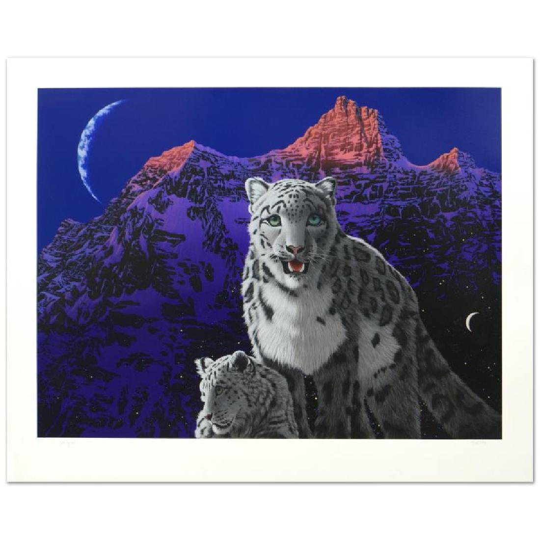 """A Mother's Love"" Limited Edition Serigraph by William"