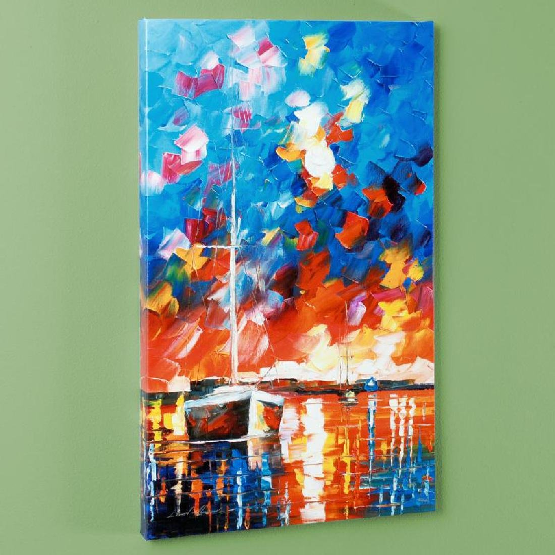 Night Comes LIMITED EDITION Giclee on Canvas by Leonid