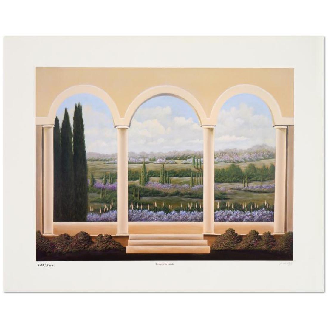 "Steven Lavaggi - ""Tranquil Veranda"" Limited Edition"