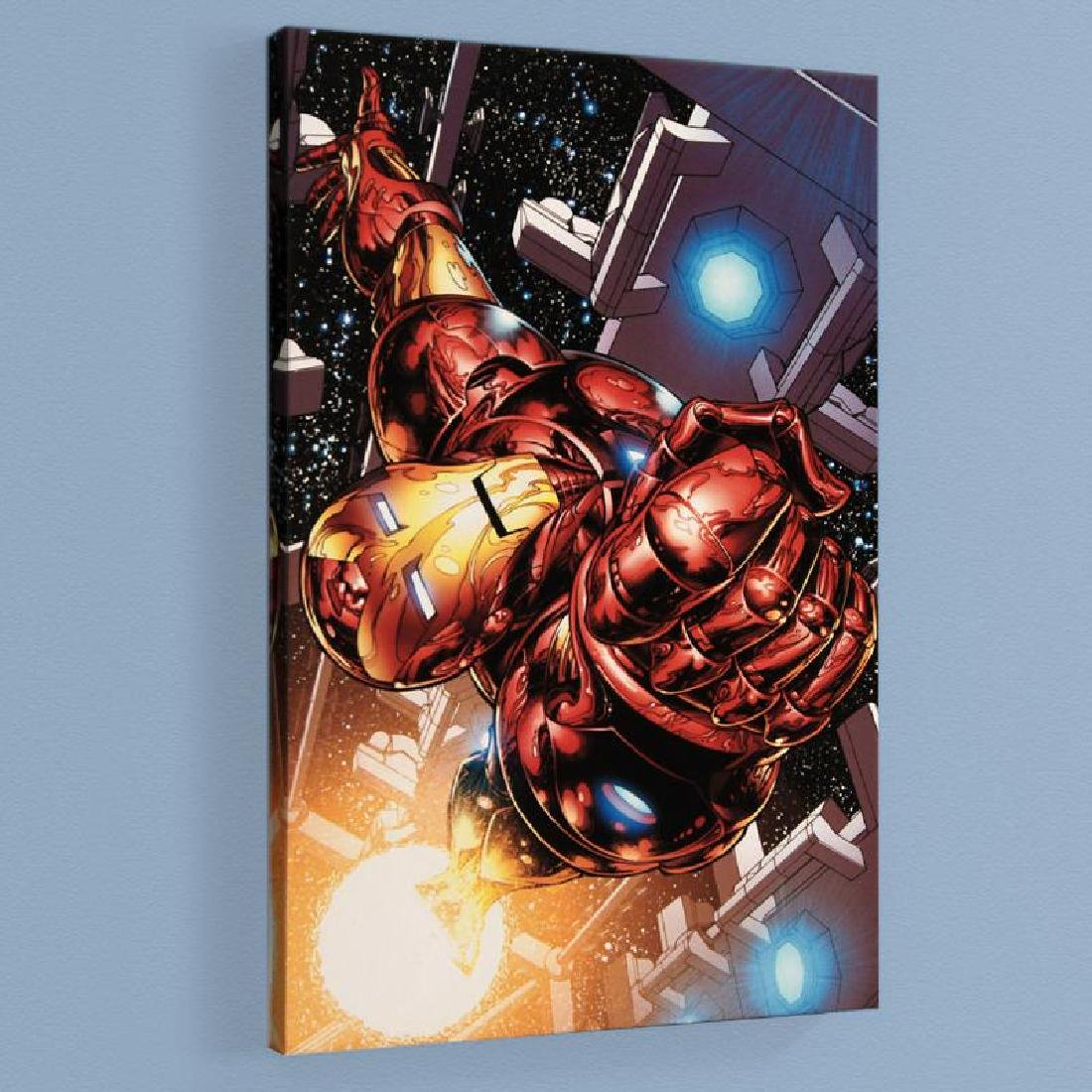 """""""The Invincible Iron Man #1"""" Limited Edition Giclee on"""