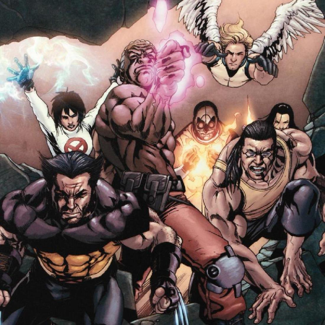 """""""Ultimate X-Men #89"""" Limited Edition Giclee on Canvas - 6"""