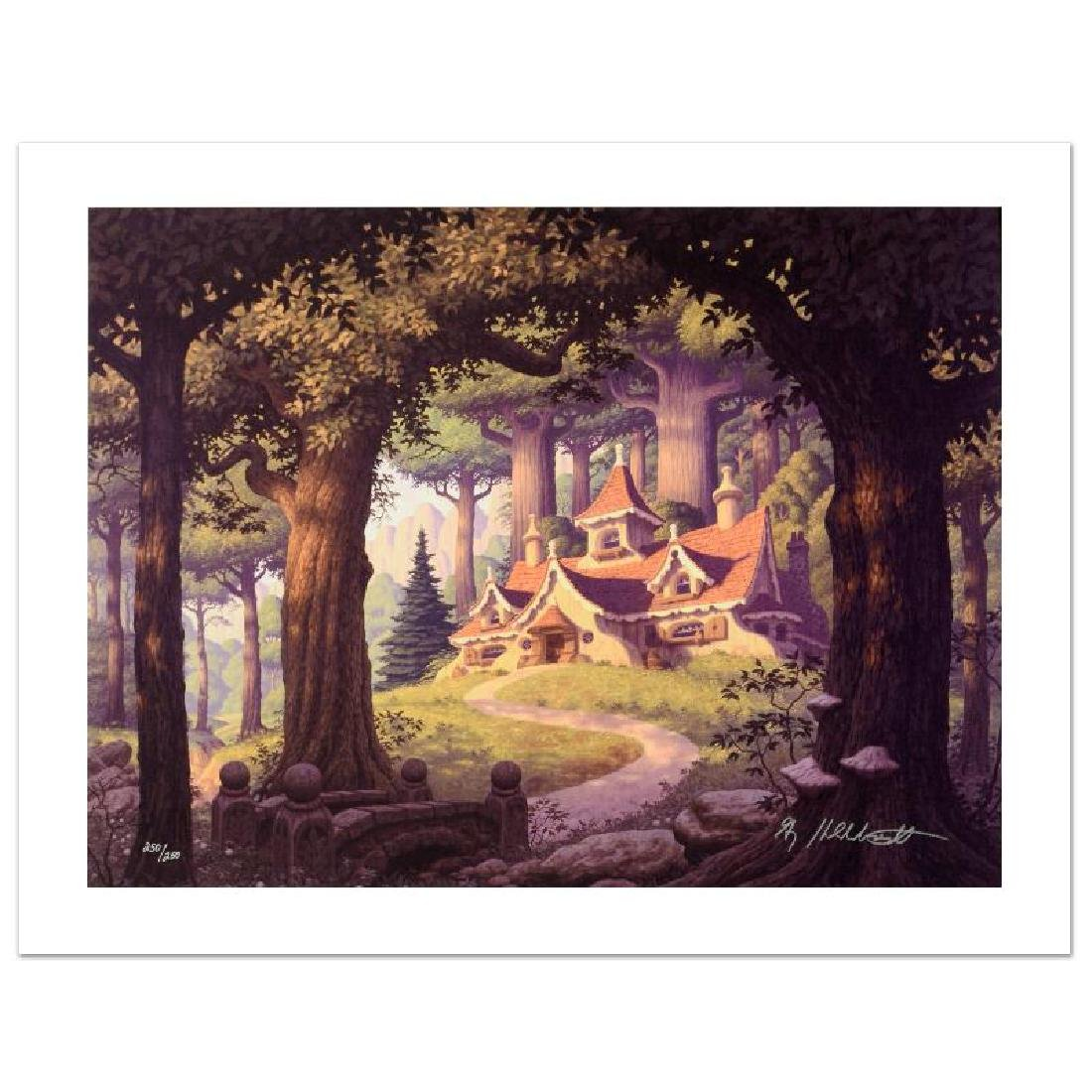 """Rivendell"" Limited Edition Giclee on Canvas by The - 3"