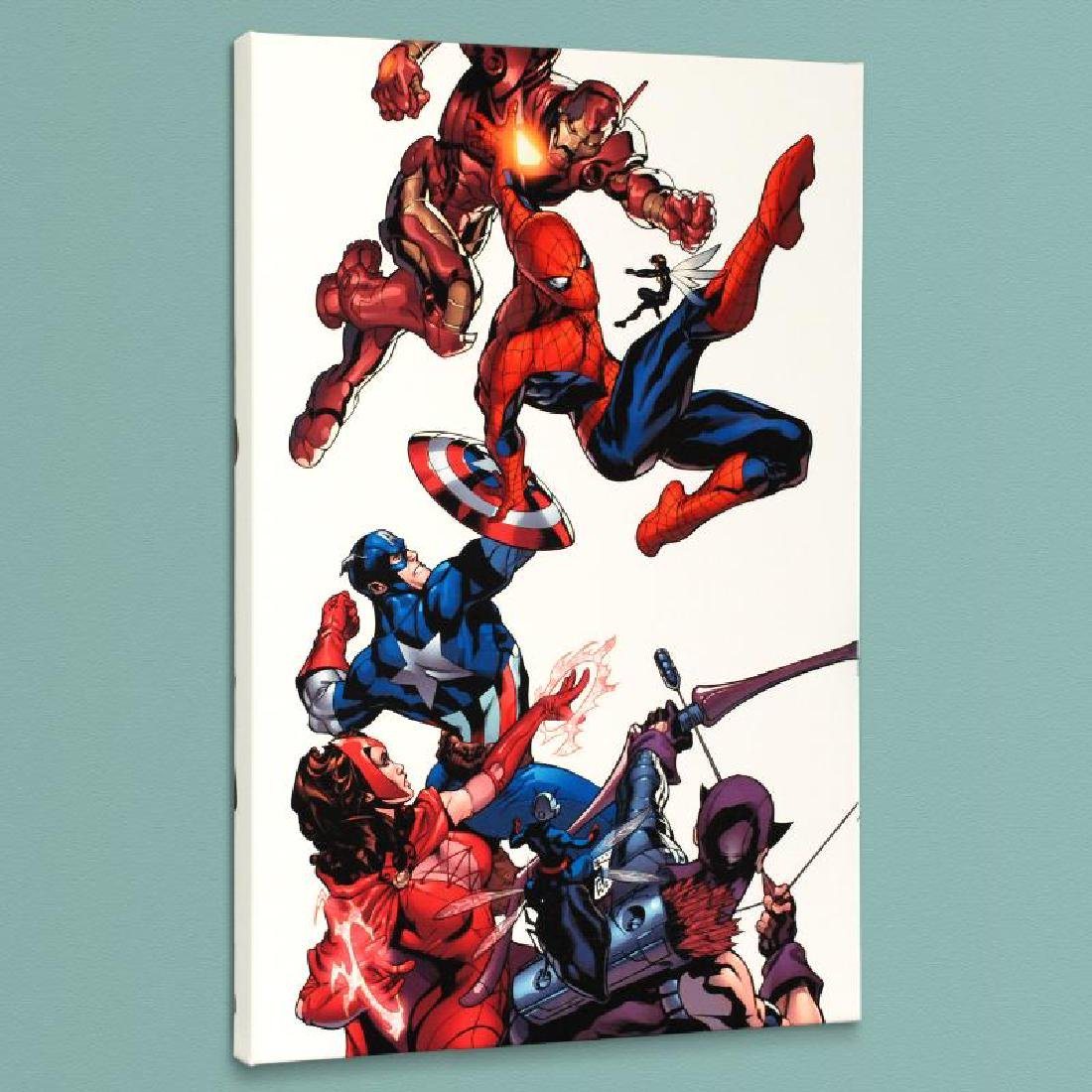 """""""Marvel Knights Spider-Man #2"""" Limited Edition Giclee - 3"""