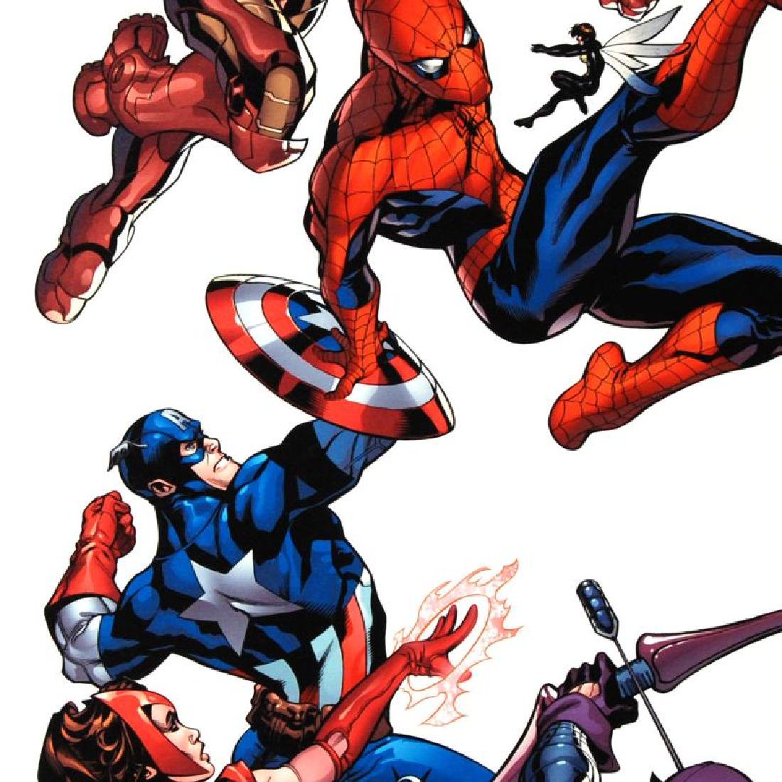 """""""Marvel Knights Spider-Man #2"""" Limited Edition Giclee - 4"""