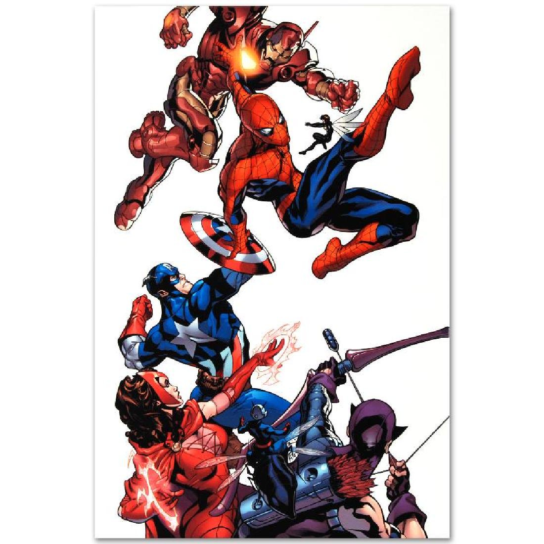 """Marvel Knights Spider-Man #2"" Limited Edition Giclee - 6"