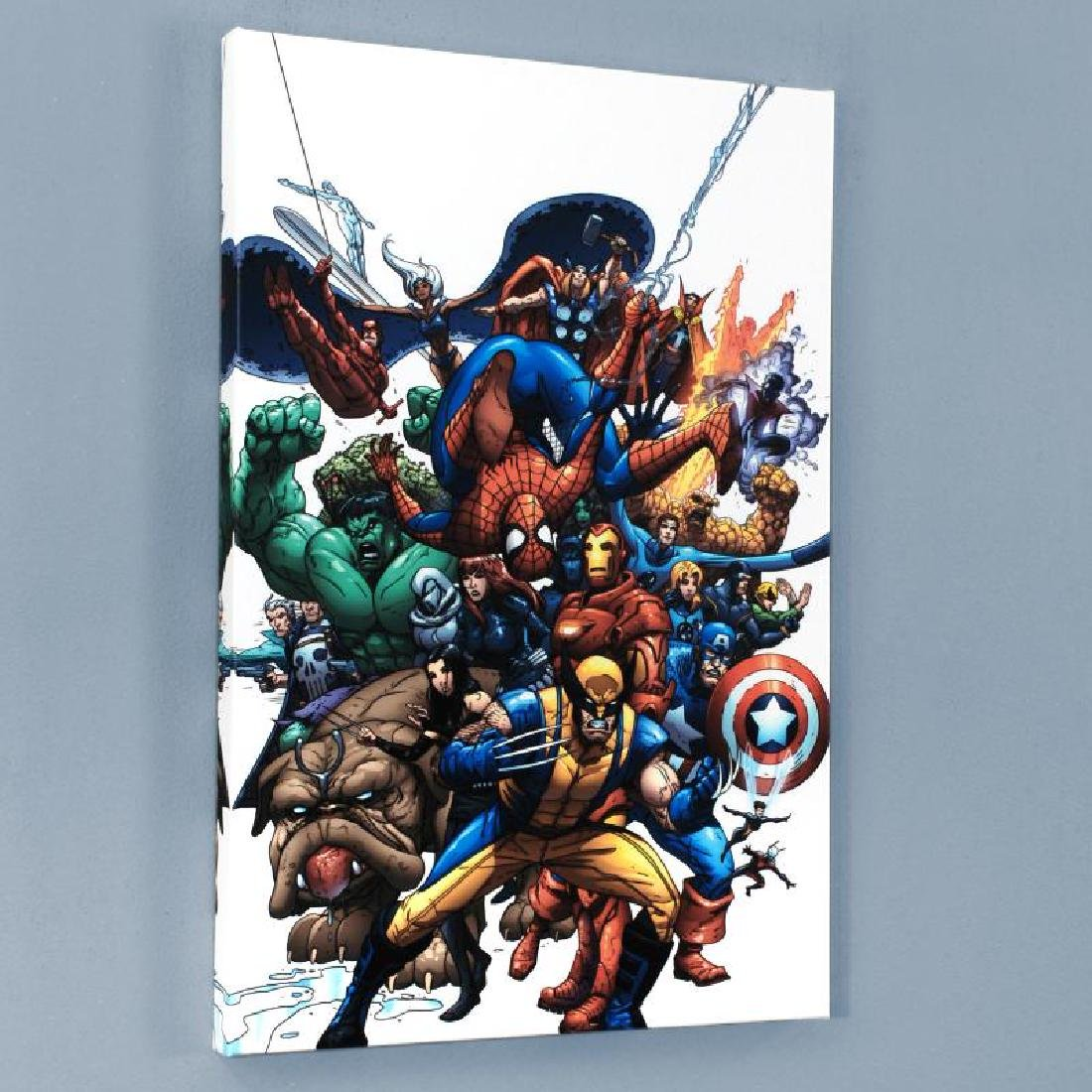 """Marvel Team Up #1"" Limited Edition Giclee on Canvas by"