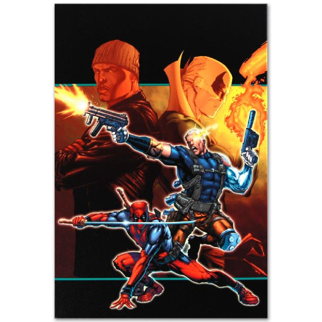 """""""Cable & Deadpool #21"""" Limited Edition Giclee on Canvas - 2"""
