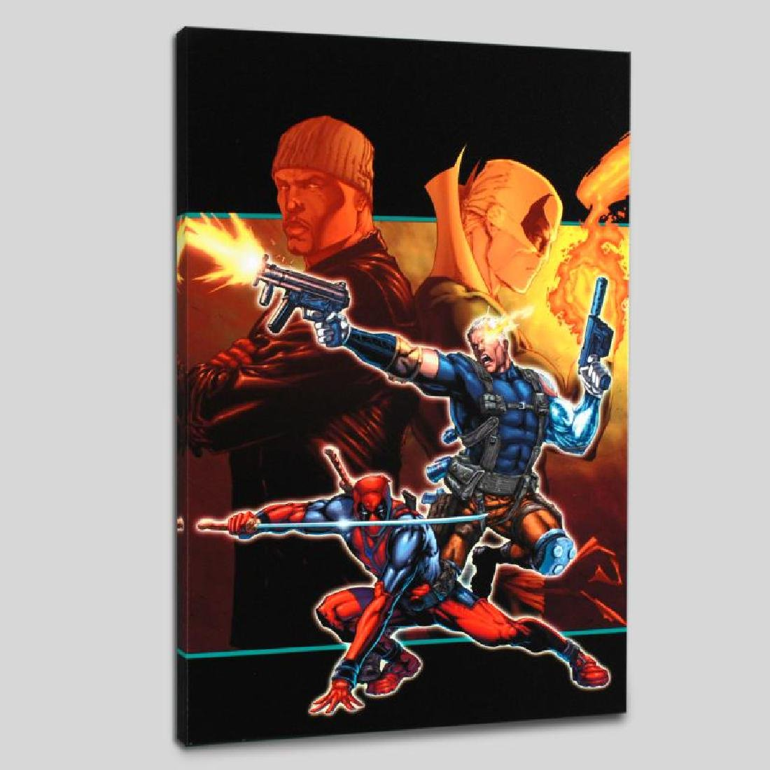 """""""Cable & Deadpool #21"""" Limited Edition Giclee on Canvas - 4"""