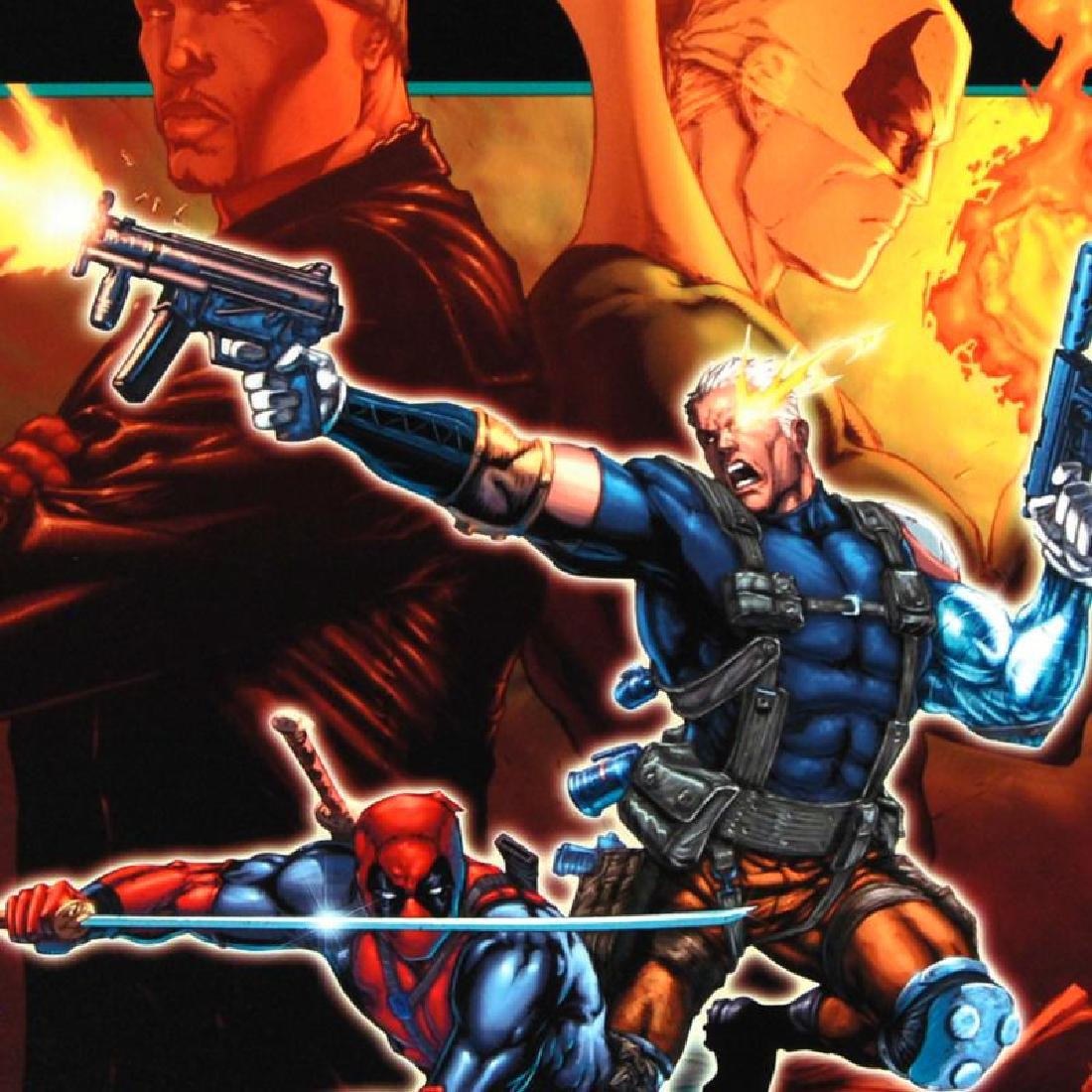"""""""Cable & Deadpool #21"""" Limited Edition Giclee on Canvas - 5"""