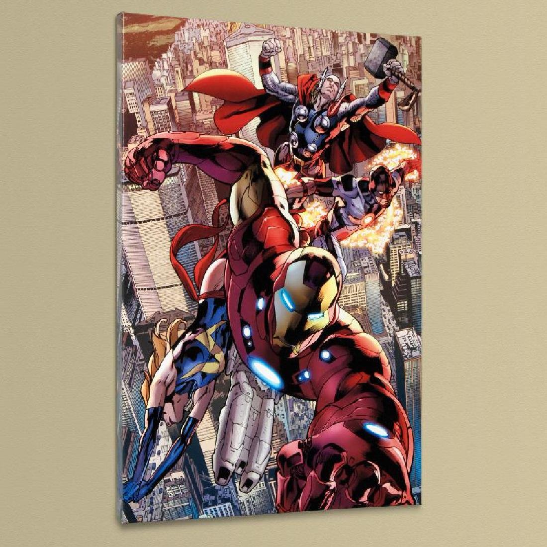 """""""Avengers #12.1"""" Extremely LIMITED EDITION Giclee on"""