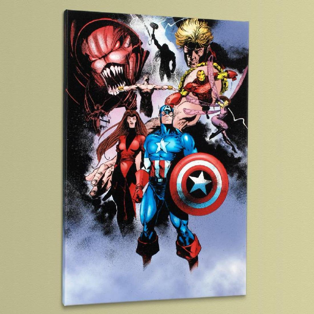 """Avengers #99 Annual"" Limited Edition Giclee on Canvas - 4"