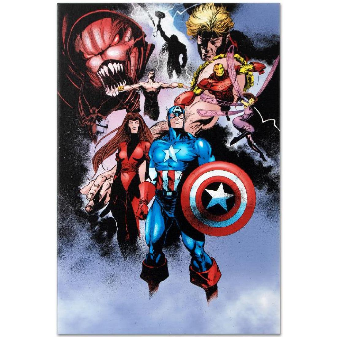 """Avengers #99 Annual"" Limited Edition Giclee on Canvas - 5"