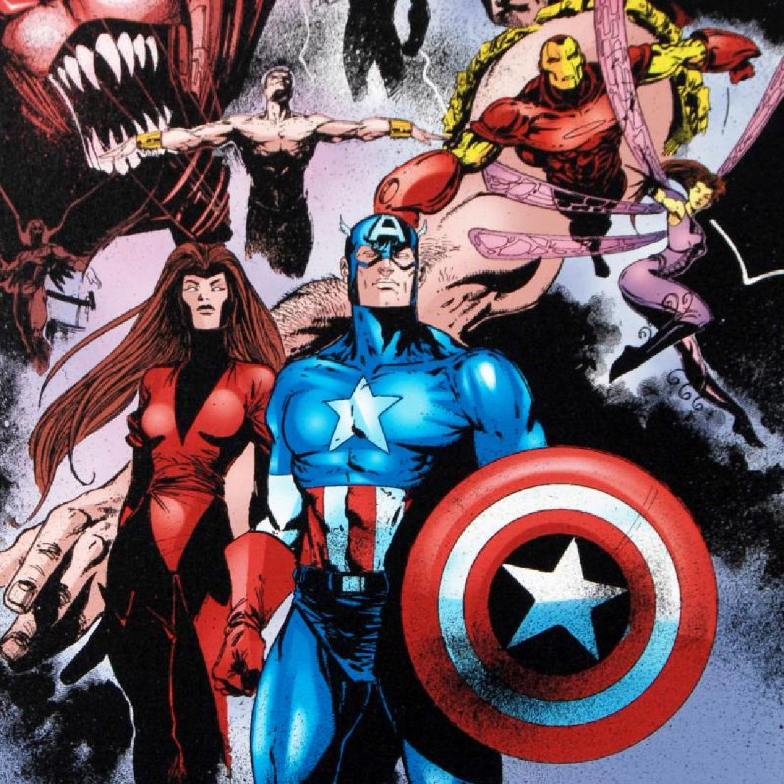 """""""Avengers #99 Annual"""" Limited Edition Giclee on Canvas - 6"""