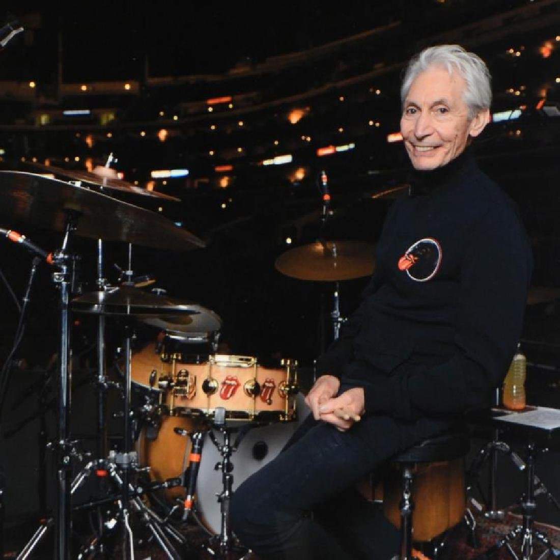 """""""Charlie Watts"""" Limited Edition Giclee by Rob Shanahan - 2"""