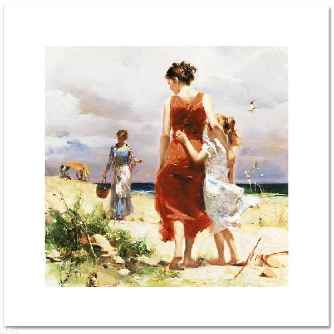 """""""Breezy Days"""" LIMITED EDITION Artist-Embellished Giclee"""