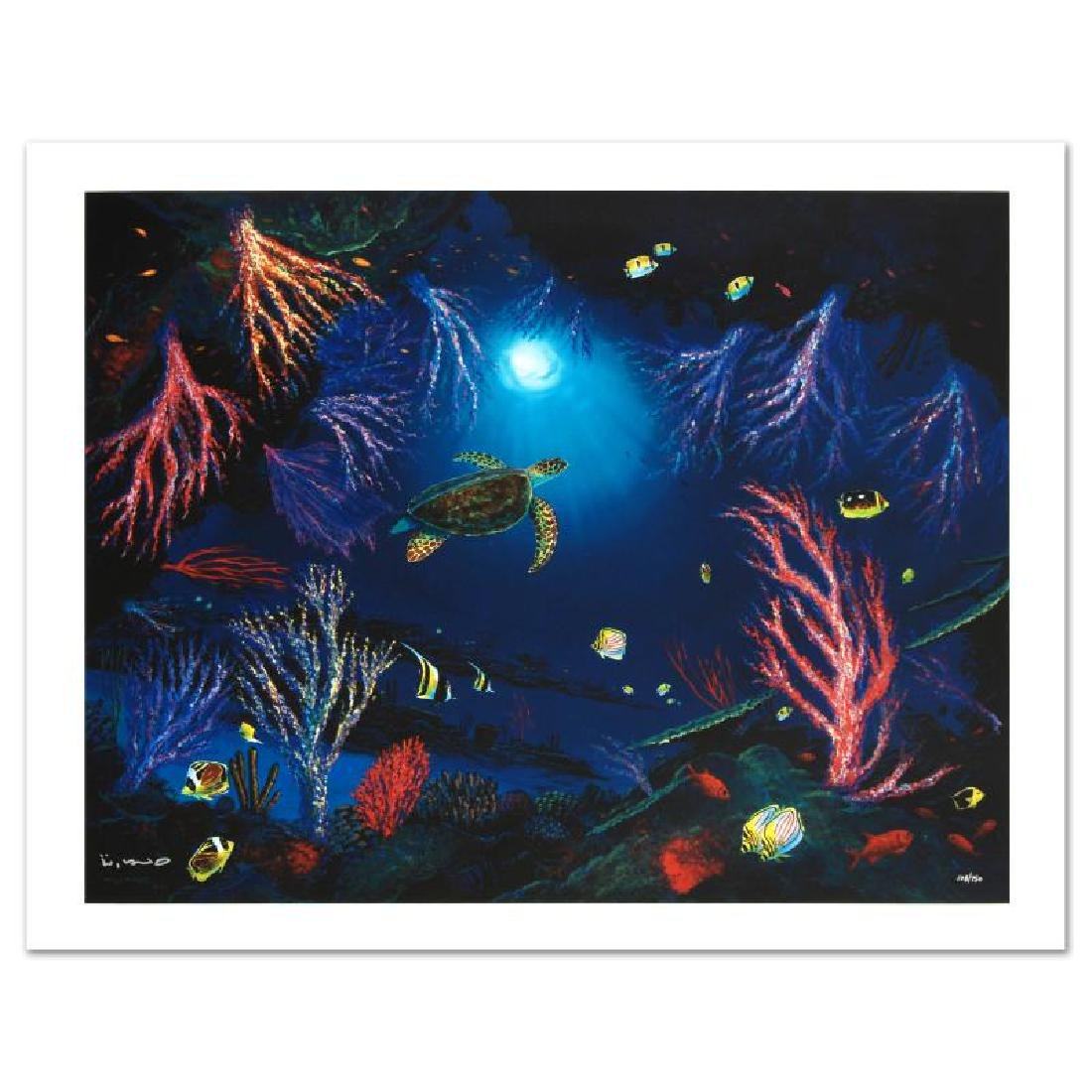 """""""Coral Reef Garden"""" Limited Edition Giclee on Canvas by"""