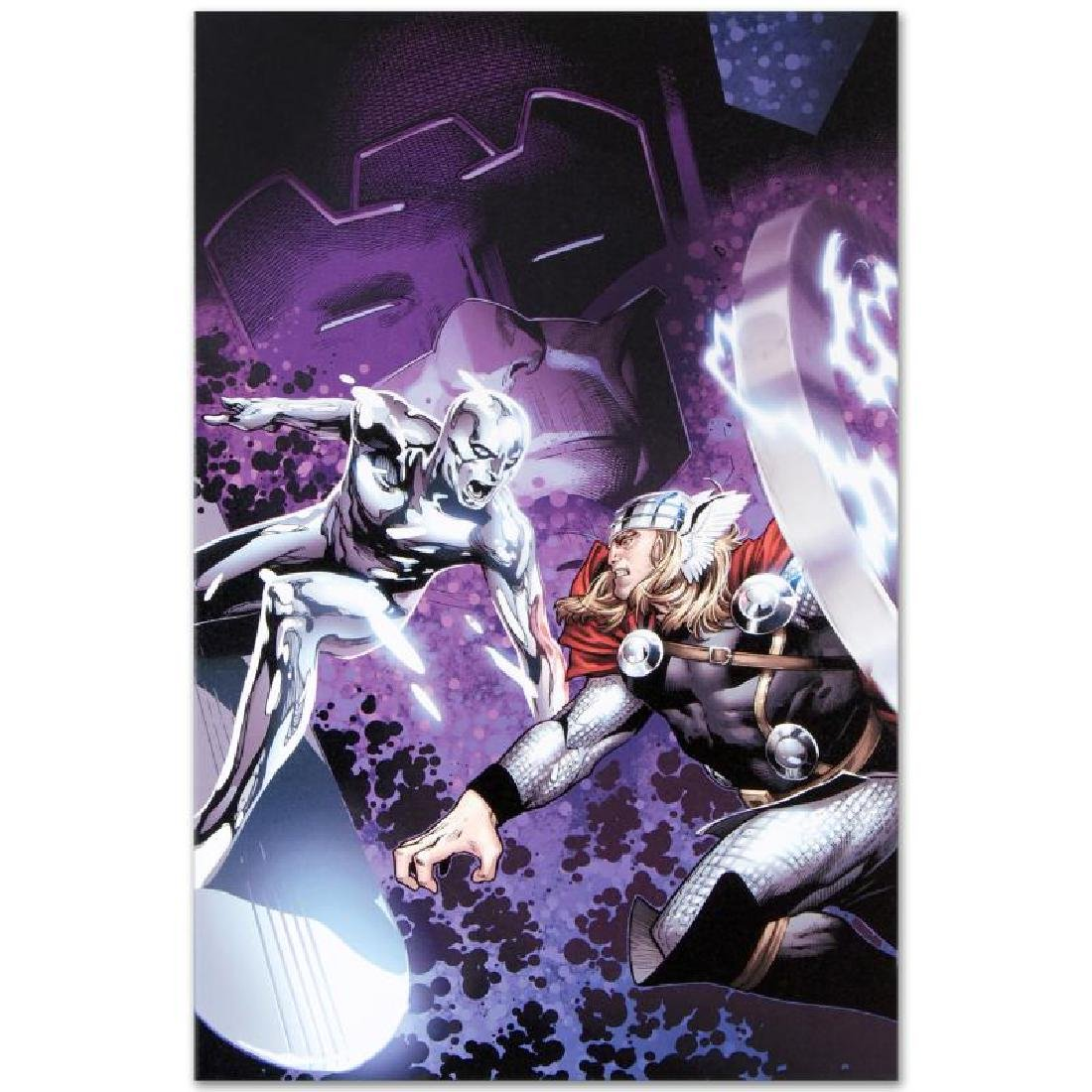 """""""The Mighty Thor #4"""" Limited Edition Giclee on Canvas - 3"""