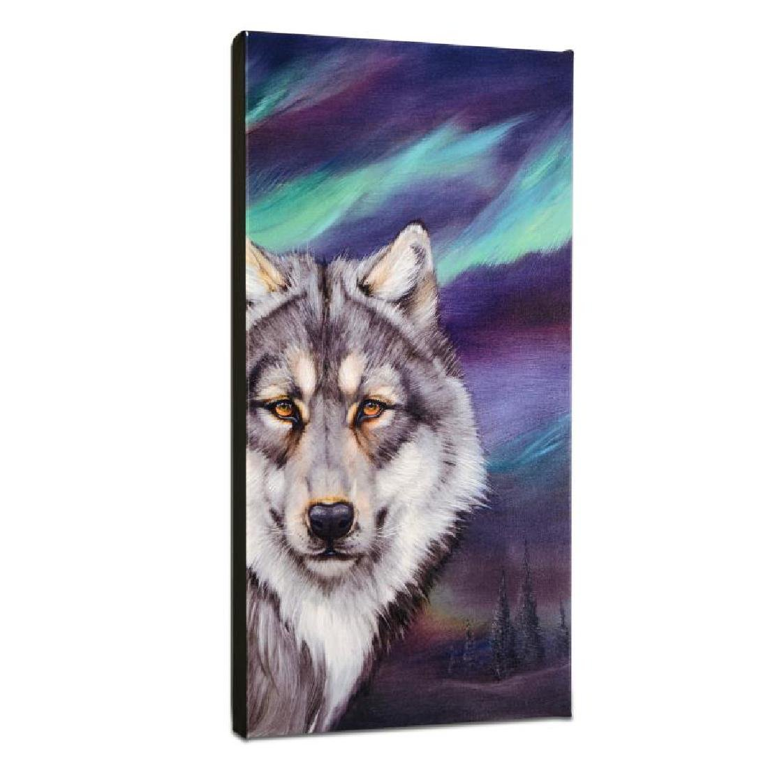 """Wolf Lights"" Limited Edition Giclee on Gallery Wrapped"
