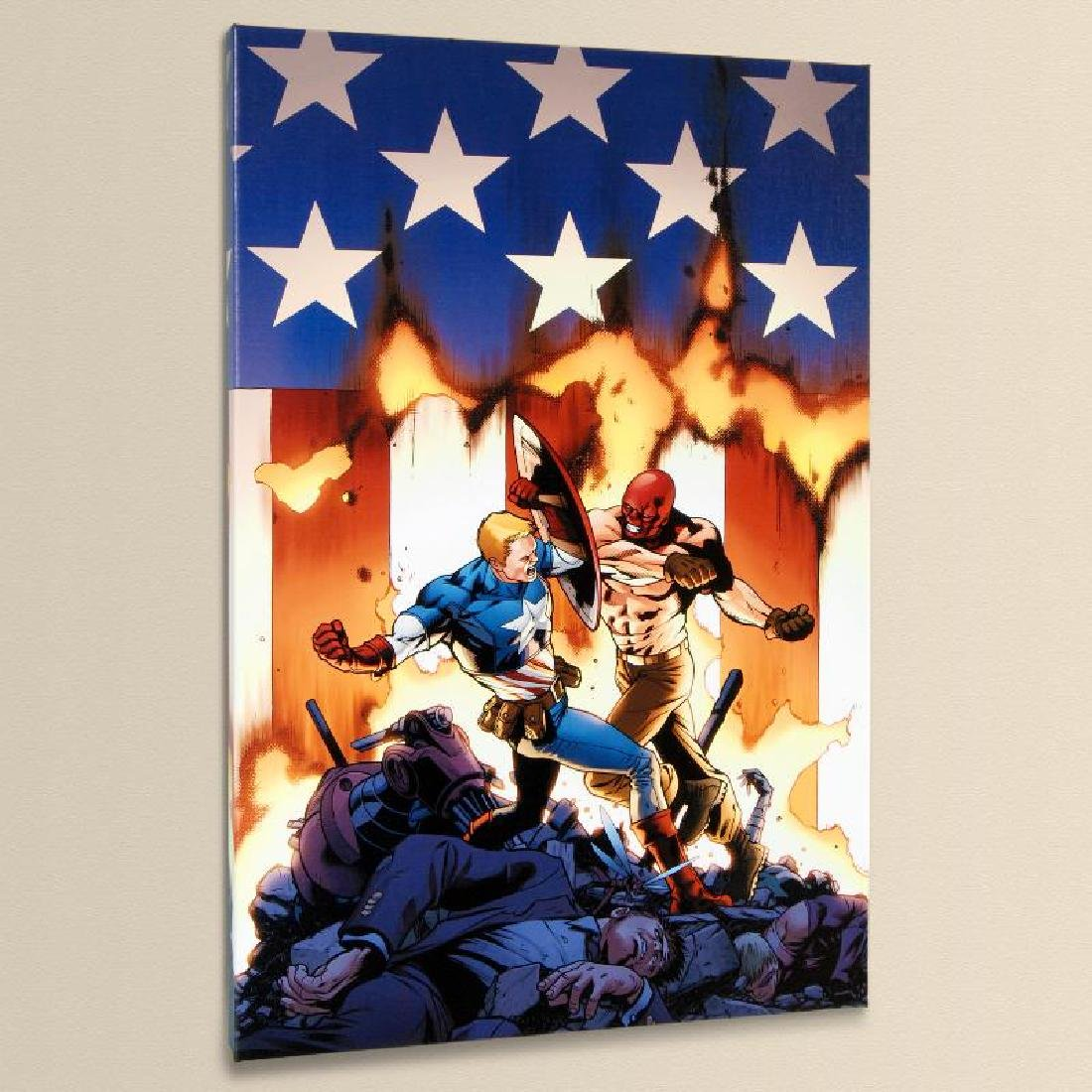 """""""Ultimate Avengers #8"""" Limited Edition Giclee on Canvas"""