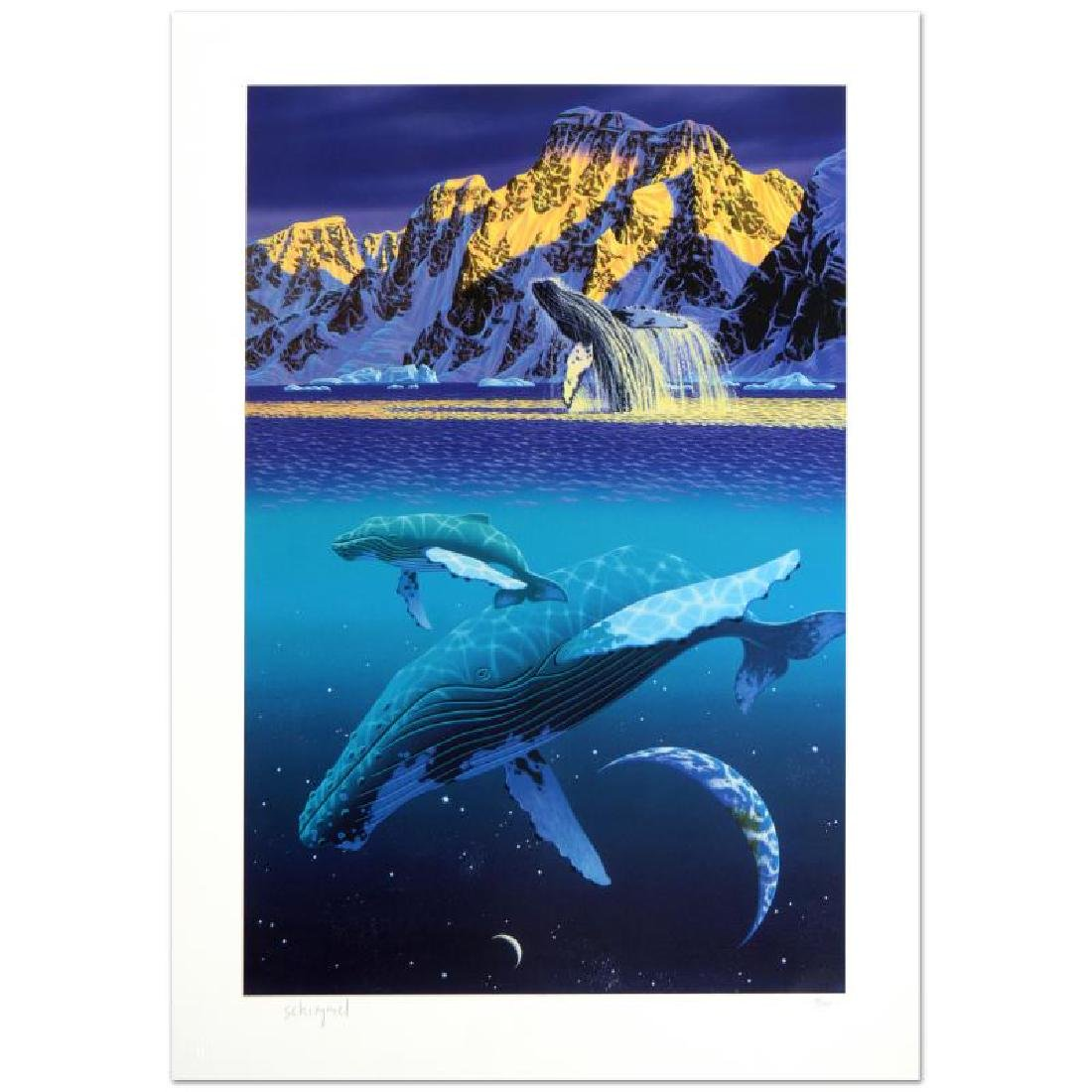 """The Humpback's World"" Limited Edition Serigraph by - 3"