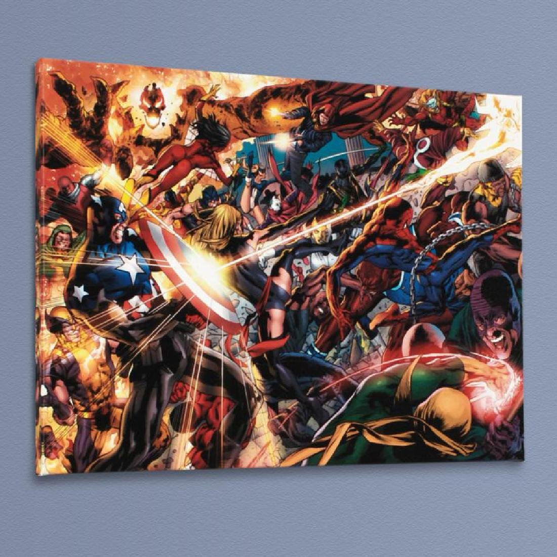 """""""New Avengers #50"""" Limited Edition Giclee on Canvas by"""