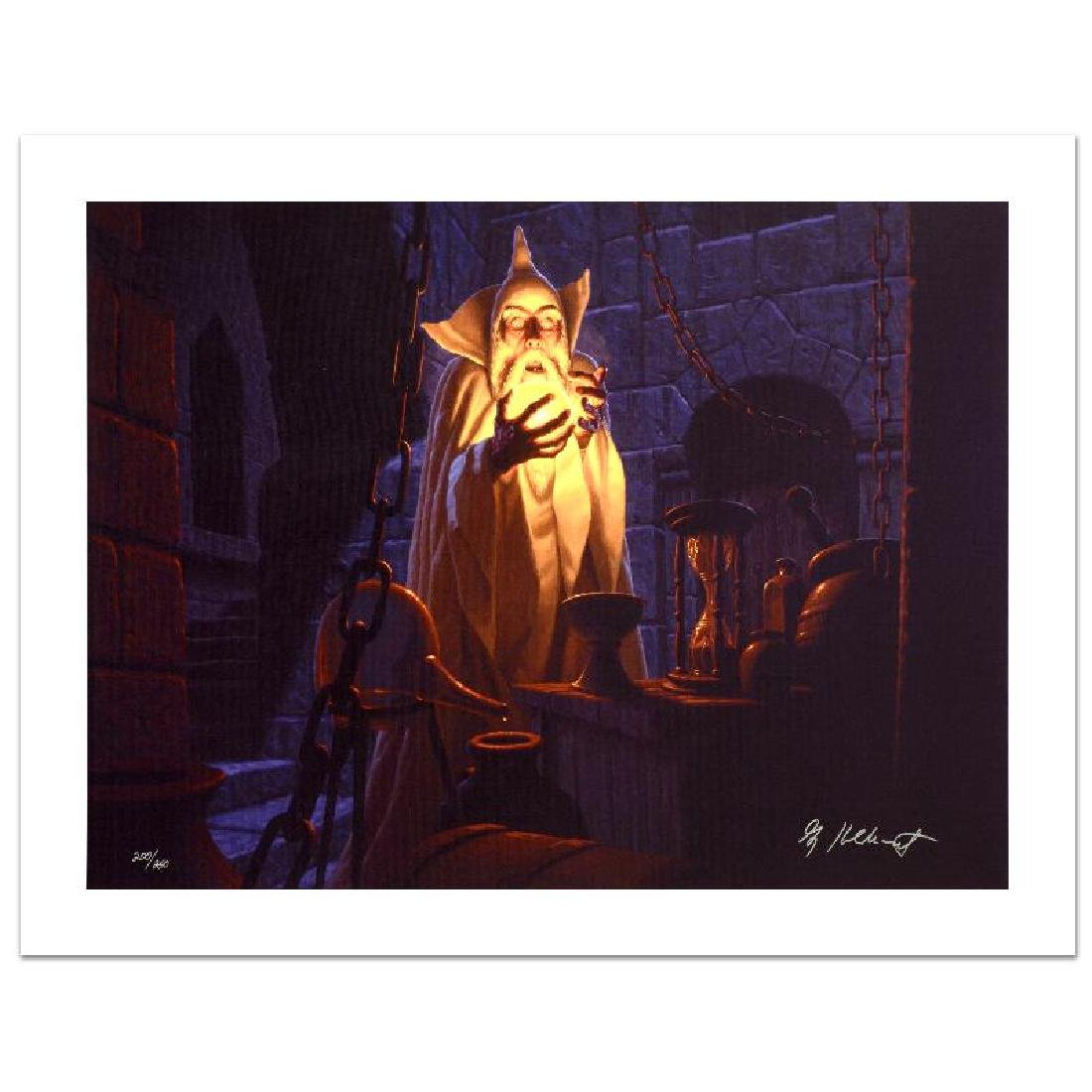 """Saruman And The Palantir"" Limited Edition Giclee on"