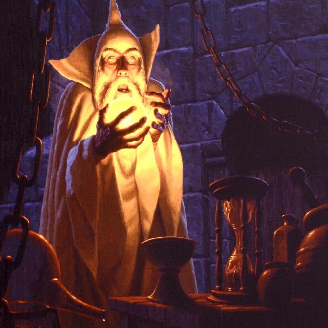 """Saruman And The Palantir"" Limited Edition Giclee on - 2"