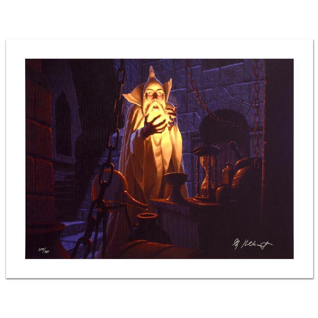 """Saruman And The Palantir"" Limited Edition Giclee on - 3"