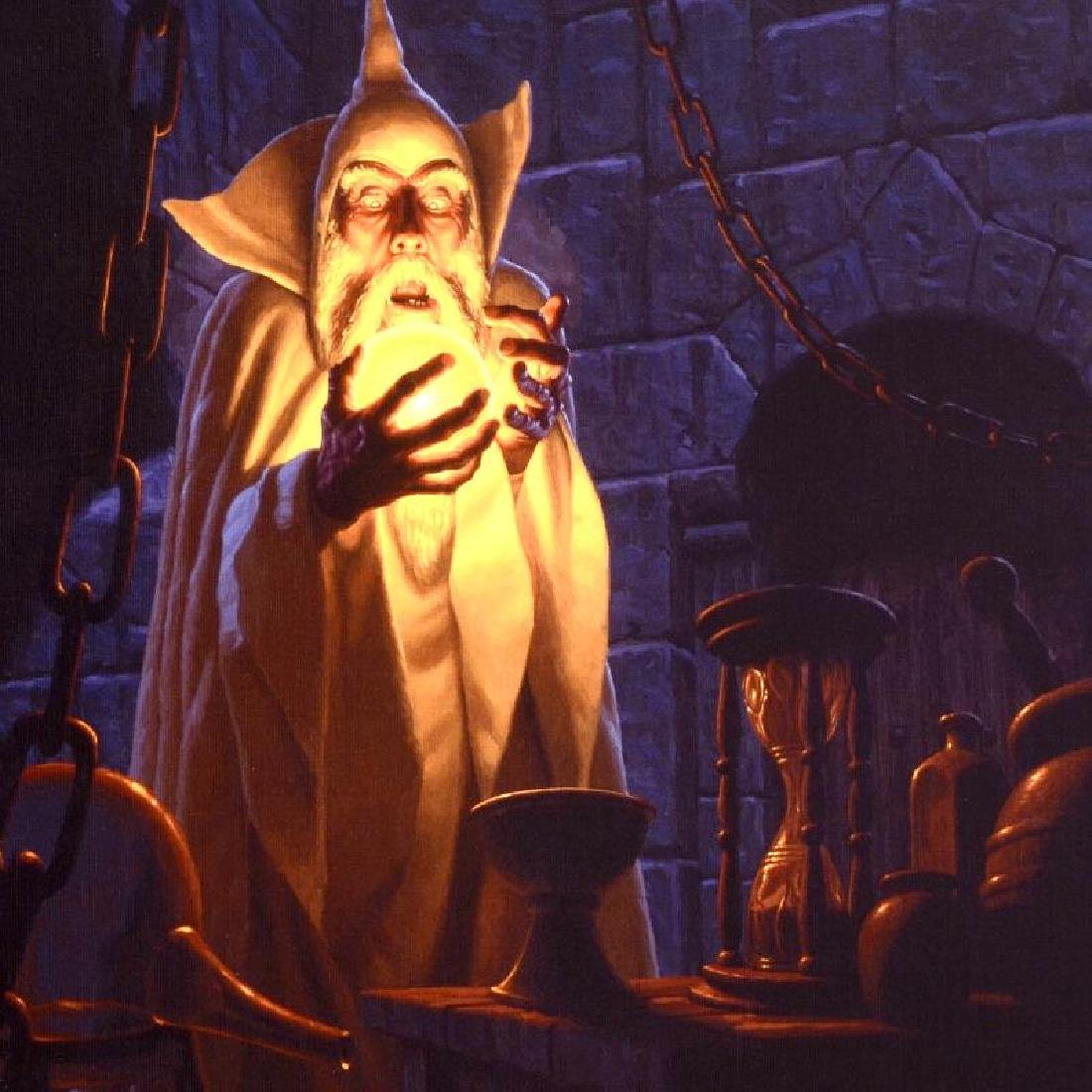 """Saruman And The Palantir"" Limited Edition Giclee on - 4"