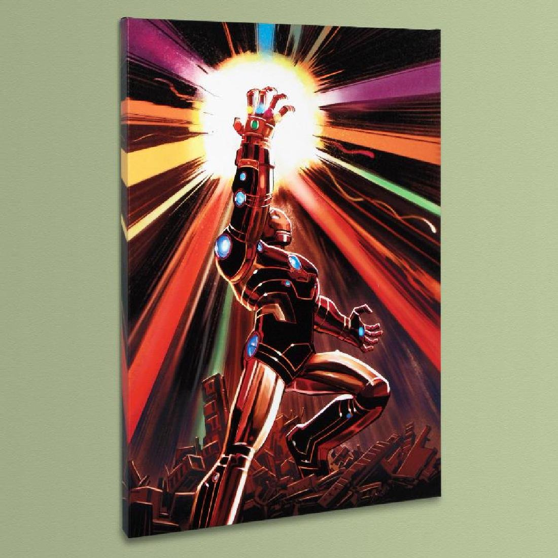"""Avengers #12"" LIMITED EDITION Giclee on Canvas by John"