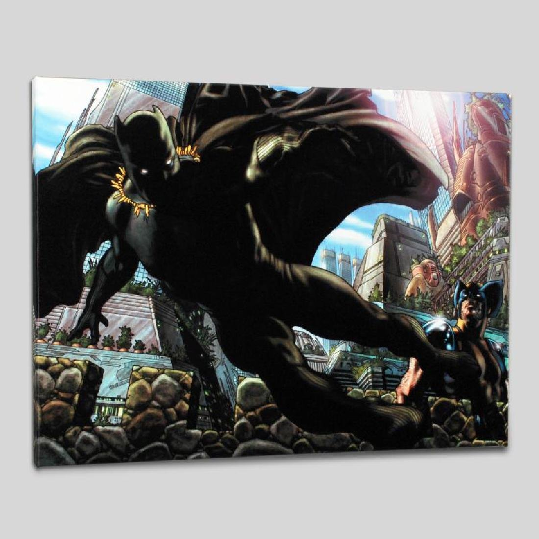 """""""Wolverine #52"""" Limited Edition Giclee on Canvas by"""