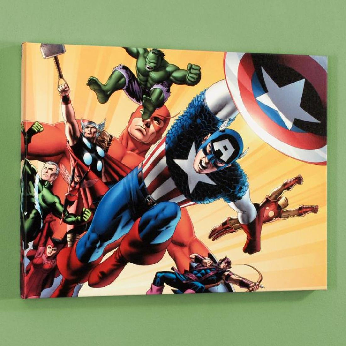"""Fallen Son: Death of Captain America #5"" Limited - 3"