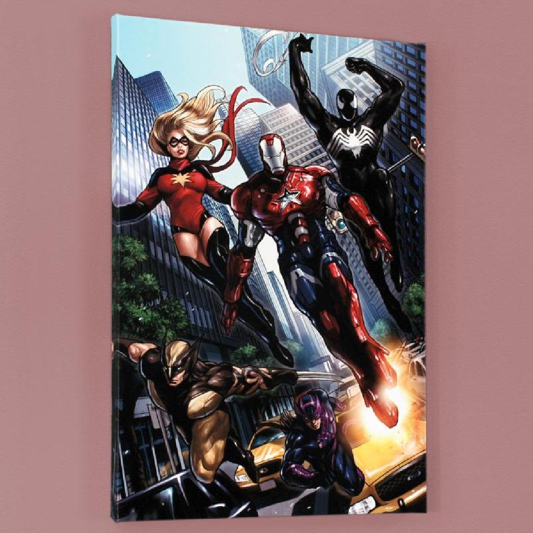 """""""Ms. Marvel #44"""" Limited Edition Giclee on Canvas by - 2"""