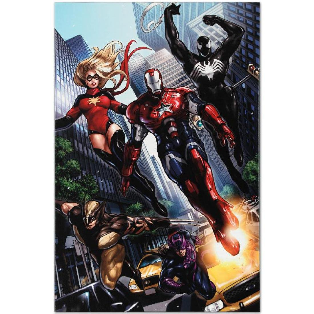 """""""Ms. Marvel #44"""" Limited Edition Giclee on Canvas by - 6"""