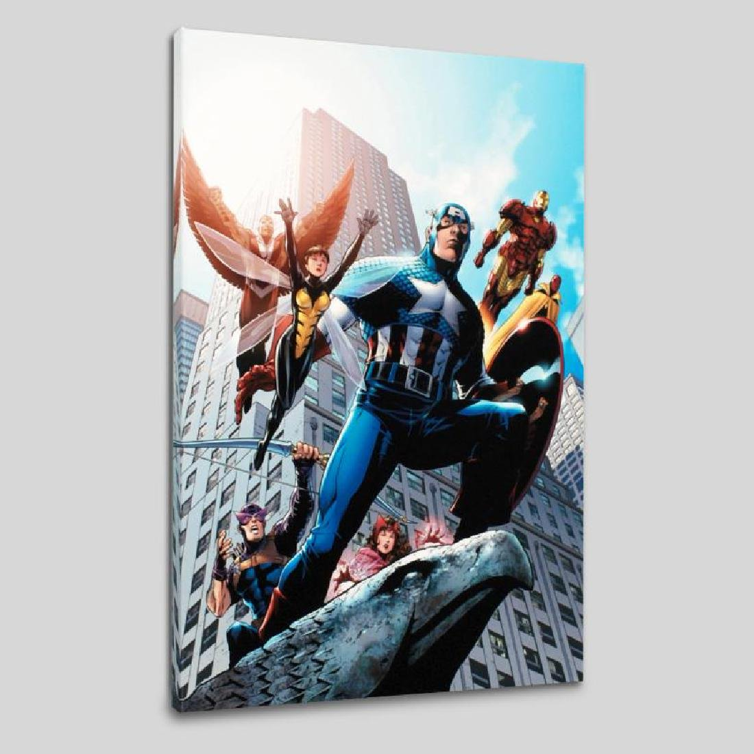 """""""Avengers #82"""" Limited Edition Giclee on Canvas by"""