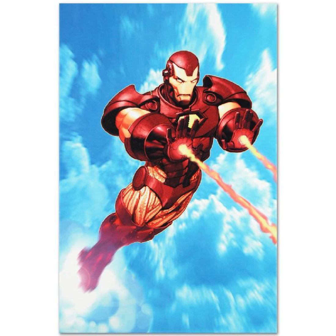"""Iron Man: Iron Protocols #1"" Limited Edition Giclee on - 6"