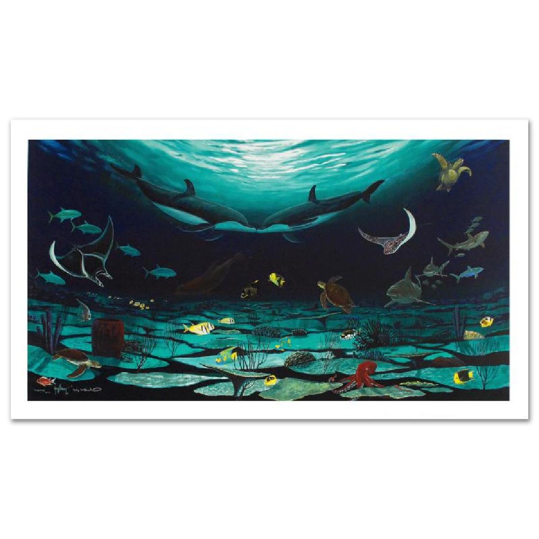 """""""Loving Sea"""" Limited Edition Giclee on Canvas (42"""" x - 4"""
