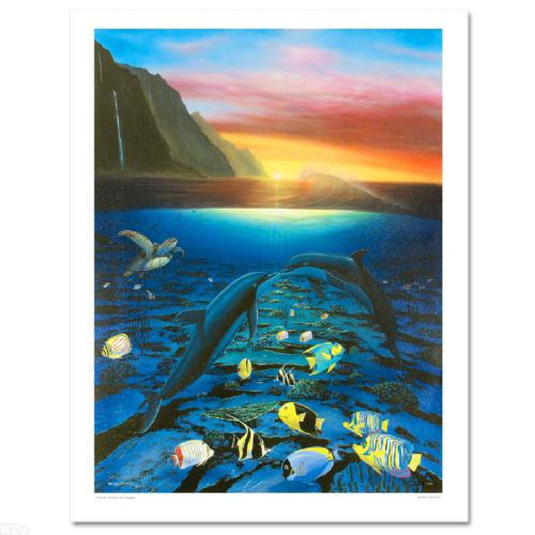 """""""Kiss for the Sea"""" Limited Edition Giclee on Canvas - 3"""
