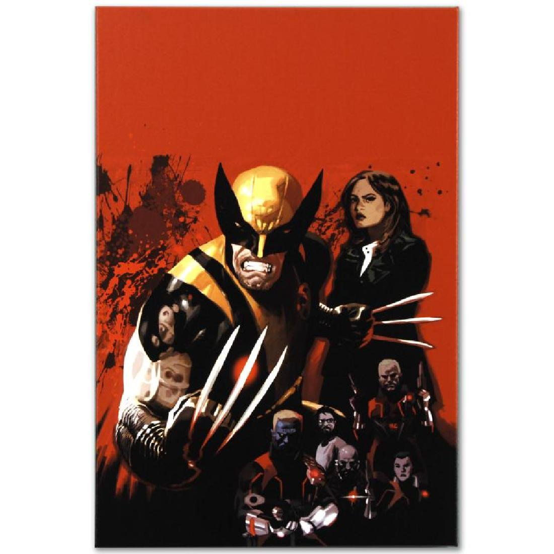 """Fear Itself: Wolverine #1"" Limited Edition Giclee on - 6"
