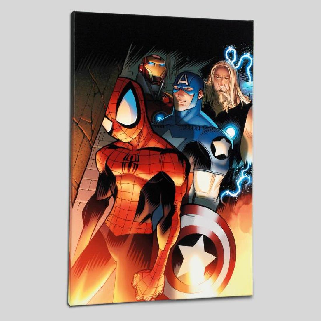 """Ultimate Spider-Man #151"" Limited Edition Giclee on"