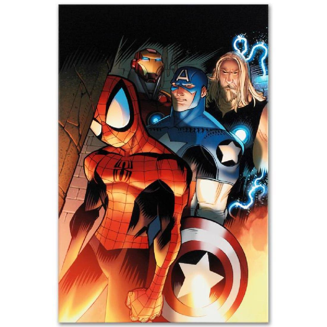 """Ultimate Spider-Man #151"" Limited Edition Giclee on - 4"