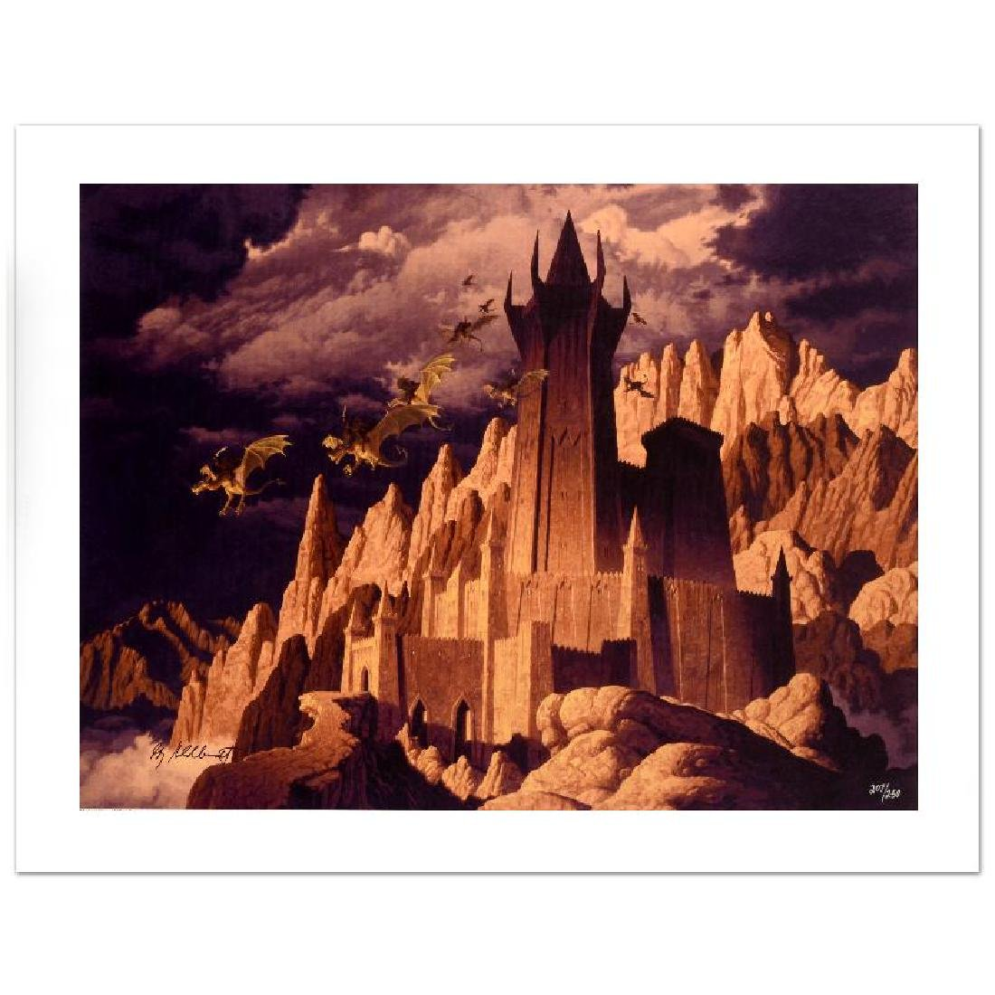 """The Dark Tower"" Limited Edition Giclee on Canvas by"