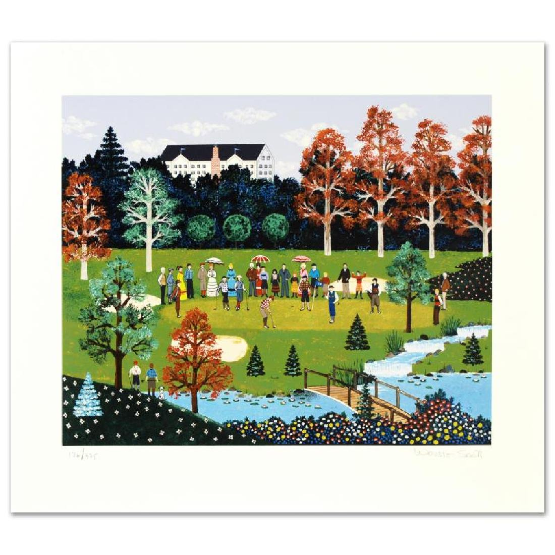 """Putt for the Championship"" Limited Edition Serigraph"