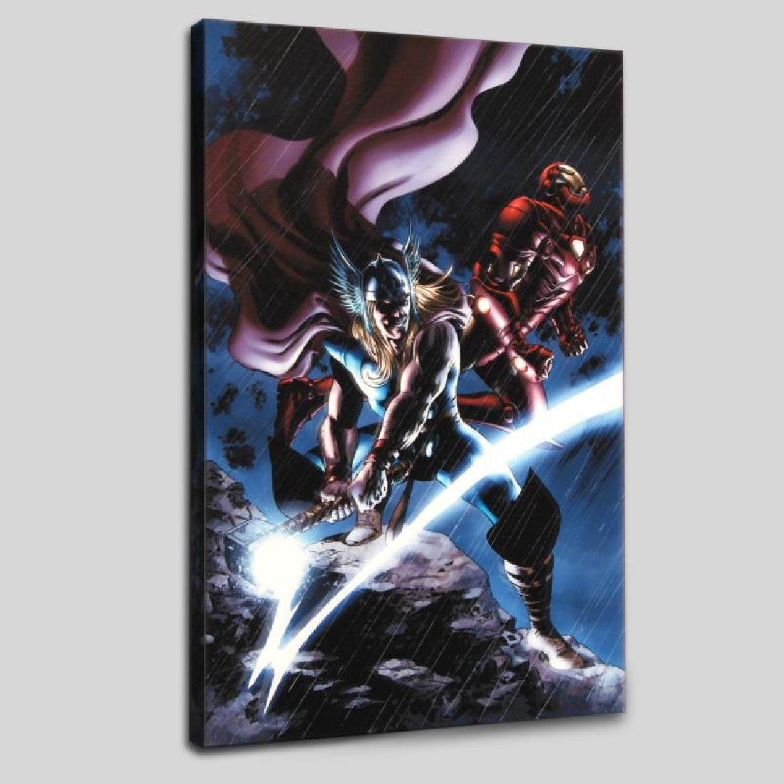 """Thor #80"" Limited Edition Giclee on Canvas by Steve"