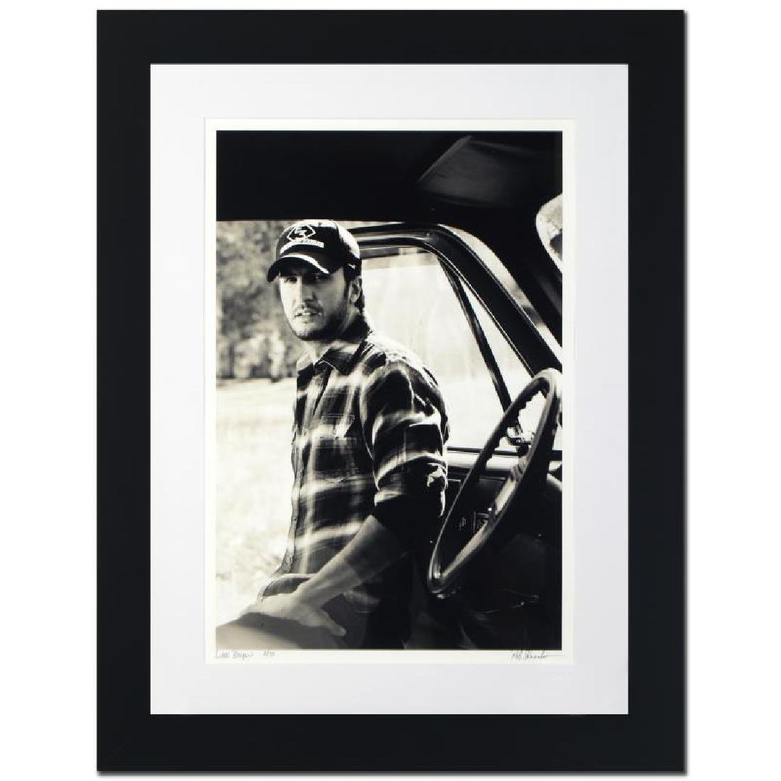 """Luke Bryan"" Limited Edition Giclee by Rob Shanahan"